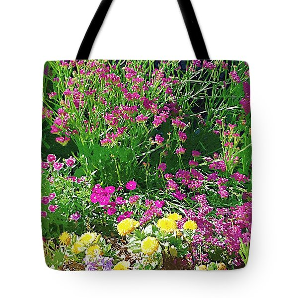 Tote Bag featuring the photograph My Garden   by Donna Bentley