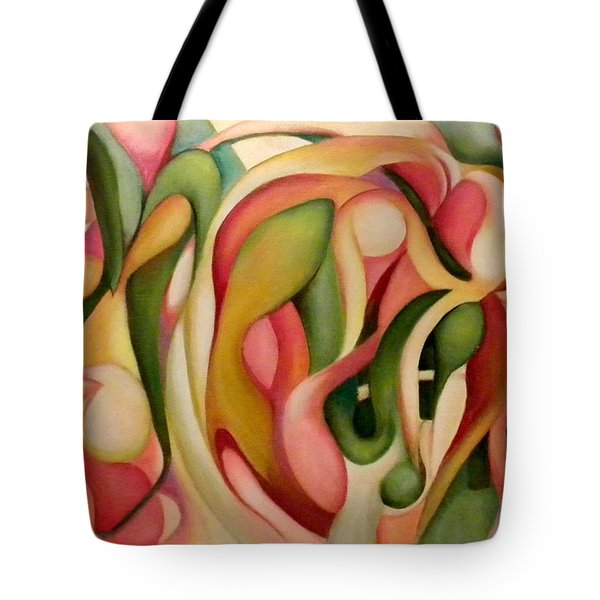 My Garden In The Morning Tote Bag