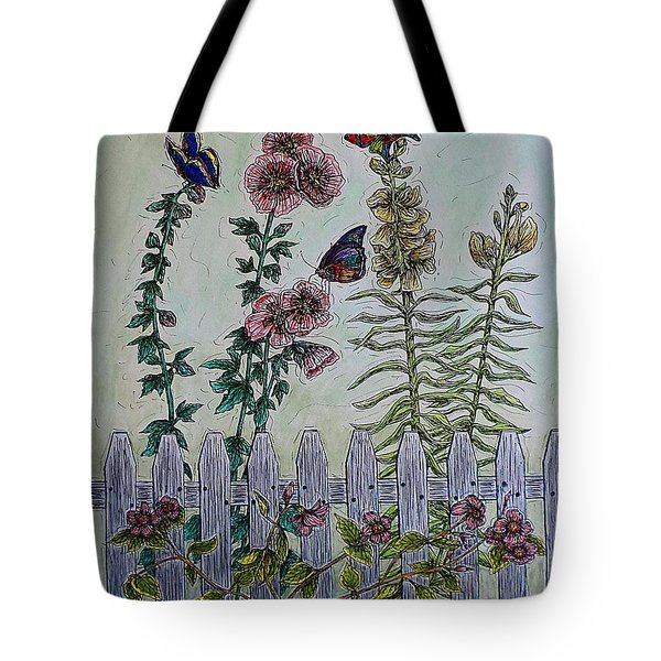 My Garden Tote Bag by Kim Jones
