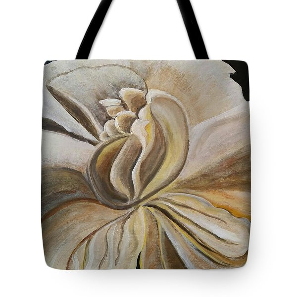 My Gardenia  Tote Bag by Carol Duarte