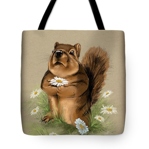 Tote Bag featuring the painting My Gift For You by Veronica Minozzi