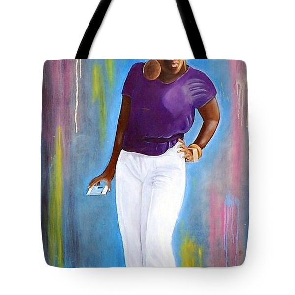 My Goodness Strike A Pose Tote Bag