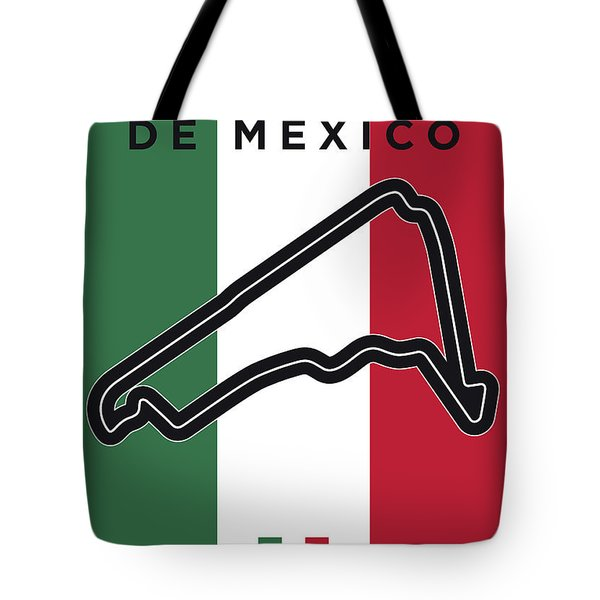 My Gran Premio De Mexico Minimal Poster Tote Bag