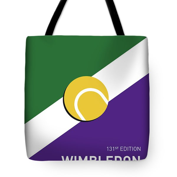 My Grand Slam 03 Wimbeldon Open 2017 Minimal Poster Tote Bag