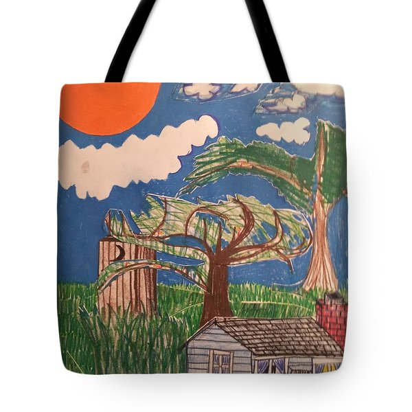 My Great Great Grandmother's House Tote Bag