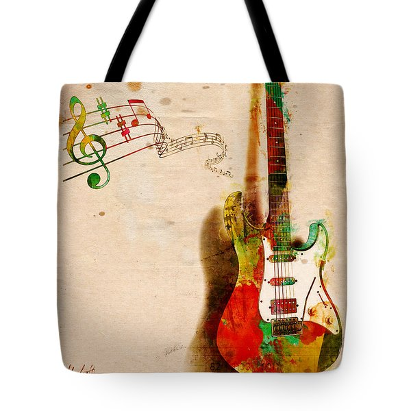 My Guitar Can Sing Tote Bag