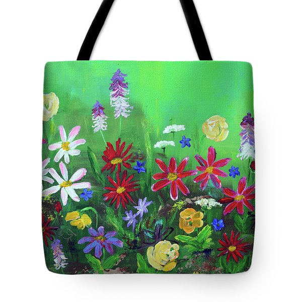My Happy Garden 2 Tote Bag