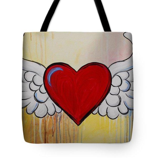 My Heart Has Wings Tote Bag