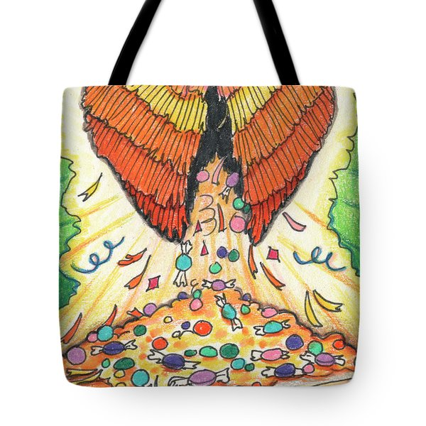 My Heart Is A Pinata Tote Bag by Amy S Turner