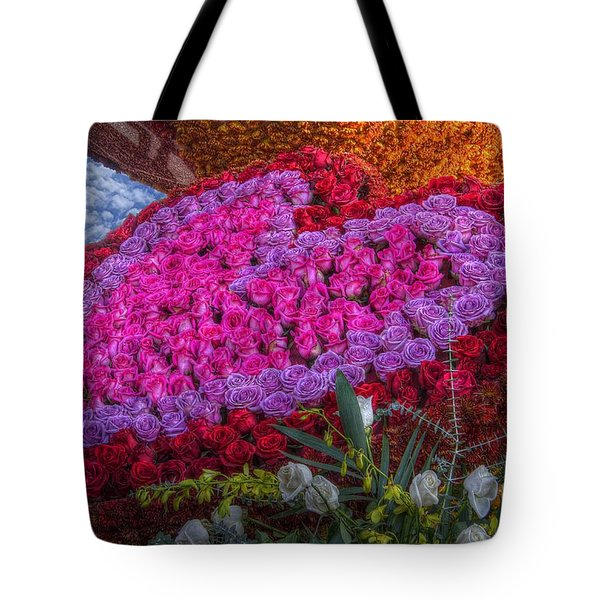 My Heart Of Roses Tote Bag