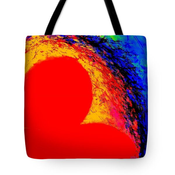 My Heart's On Fire. - Valentine - Dedicated Tote Bag