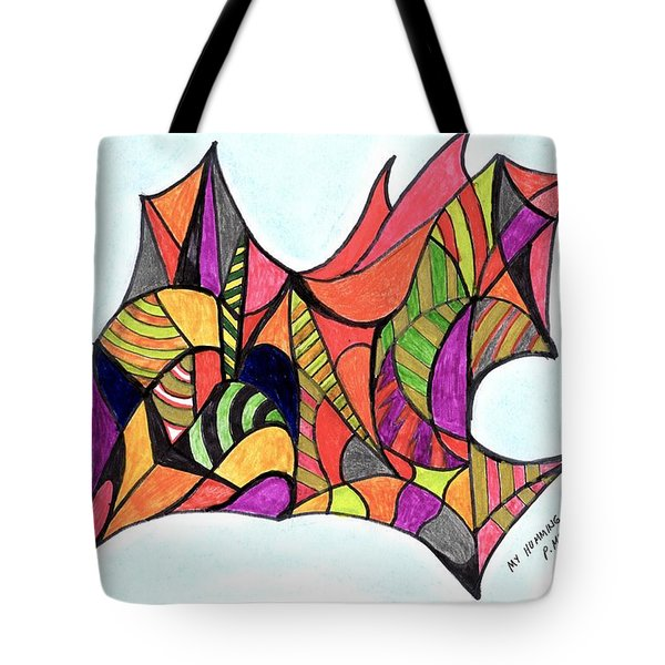 My Humming Bird Tote Bag