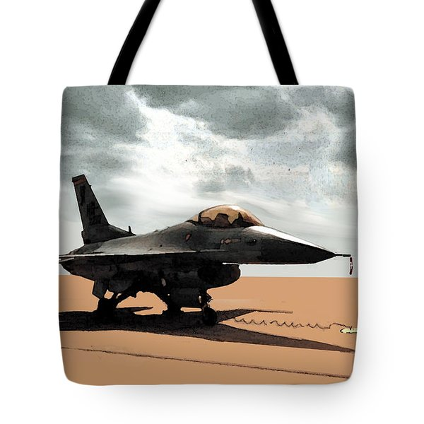 My Jet Tote Bag by Walter Chamberlain