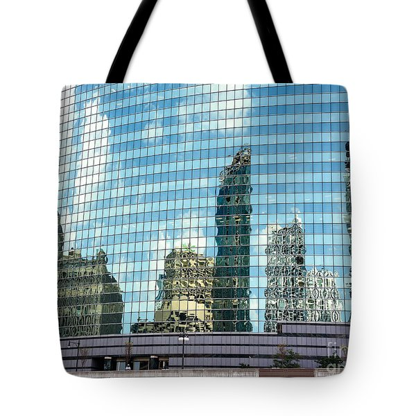 My Kind Of Town Tote Bag by Sandy Molinaro