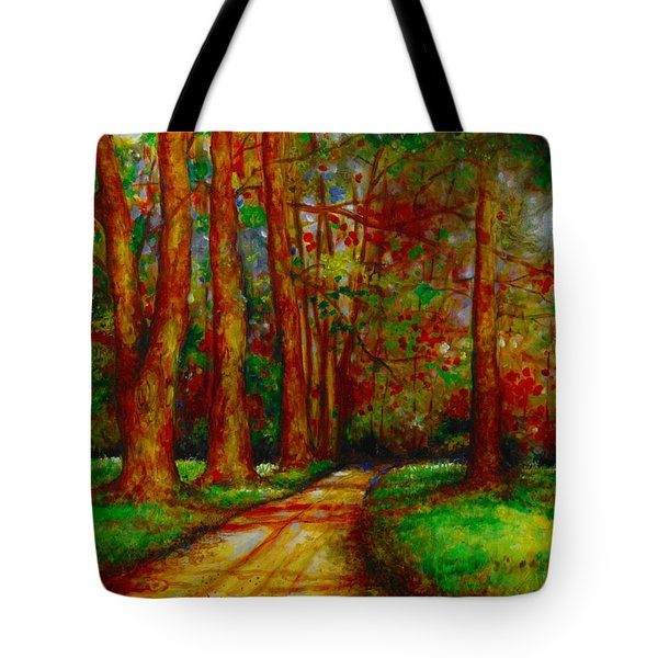 My Land Tote Bag by Emery Franklin