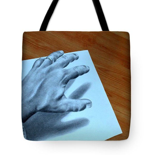 My Left Hand Tote Bag