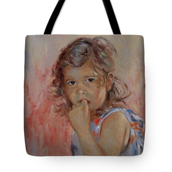 My Little Baby  Tote Bag