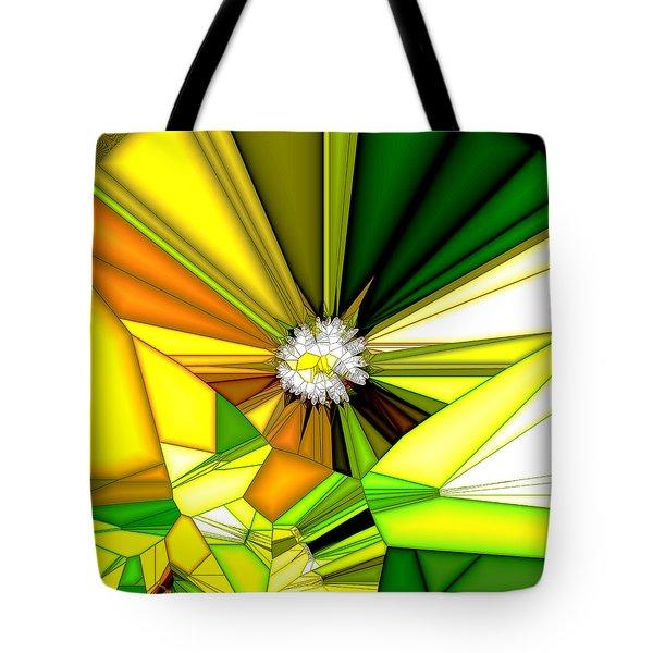 My Little Digital Daisy Tote Bag