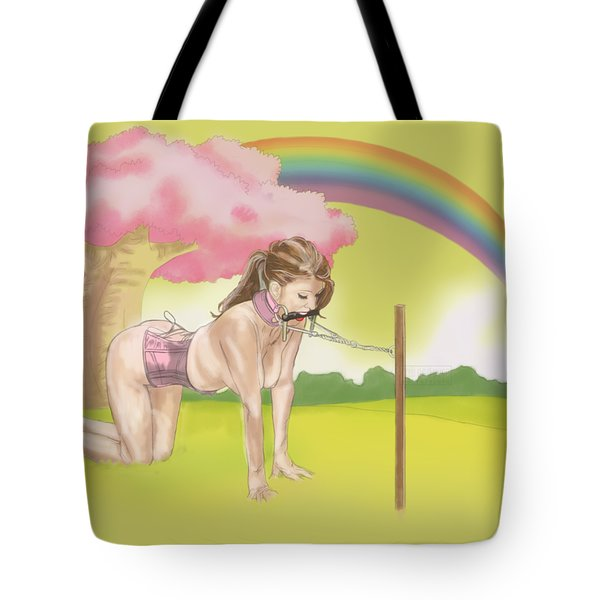 Tote Bag featuring the mixed media My Little Pony by TortureLord Art