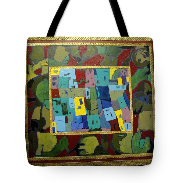 My Little Town Tote Bag by Bernard Goodman