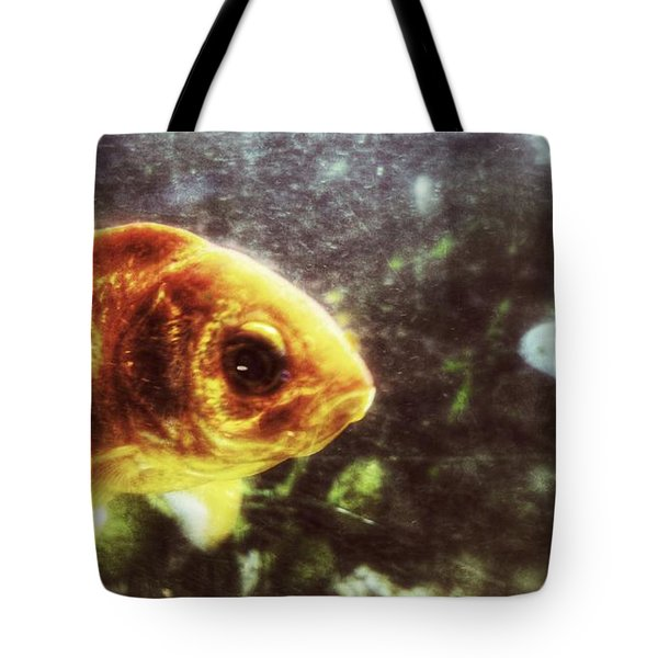 Tote Bag featuring the photograph My Littlest Fish by Isabella F Abbie Shores FRSA