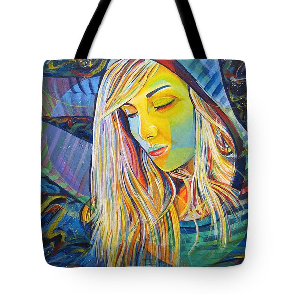 Tote Bag featuring the painting My Love by Joshua Morton
