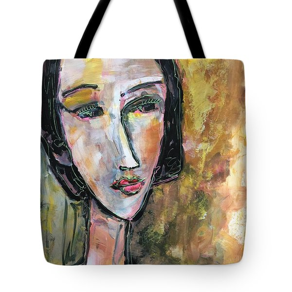 Tote Bag featuring the painting My Love Lies On The Amalfi by Laurie Maves ART