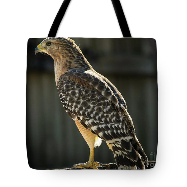 My Lucky Hawk Tote Bag