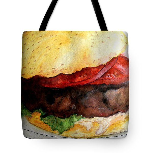 My Lunch Tote Bag