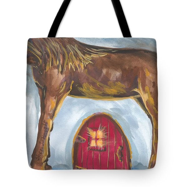 My Mane House Tote Bag