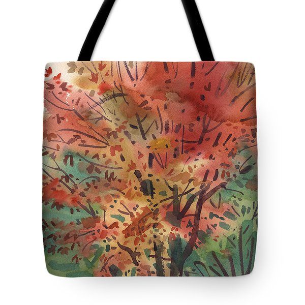 My Maple Tree Tote Bag by Donald Maier