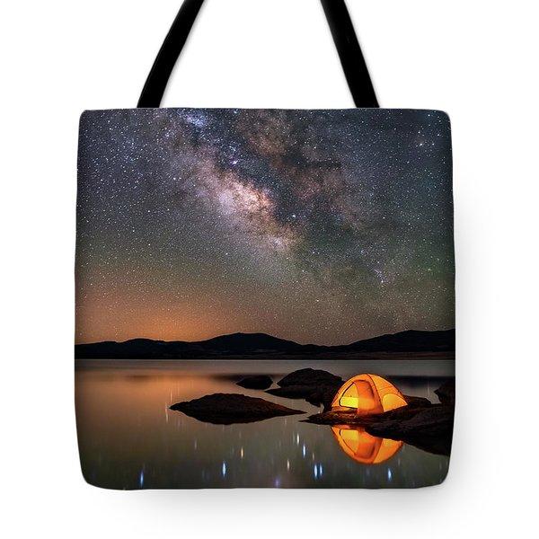 My Million Star Hotel Tote Bag by Darren White