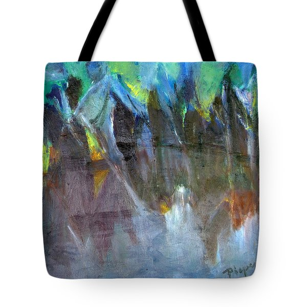My Mohawk Tote Bag by Betty Pieper