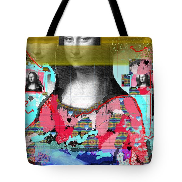 My Mona Tote Bag by Sladjana Lazarevic