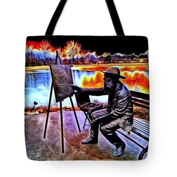 My Monet Tote Bag