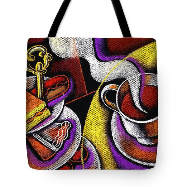 My Morning Coffee Tote Bag