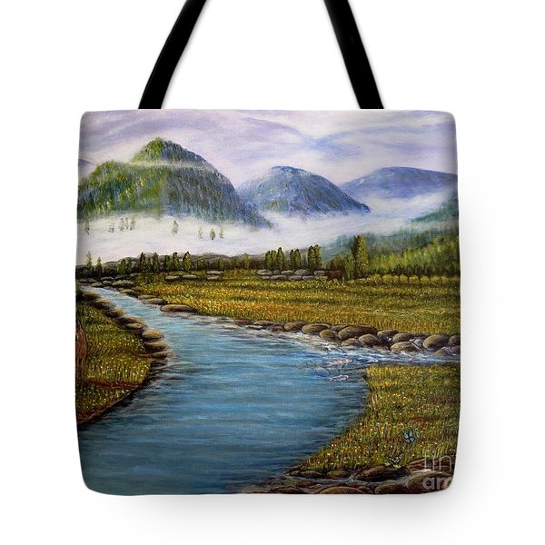 My Morning Walk With God Tote Bag