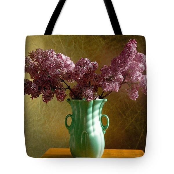 My Mother's Lilacs Tote Bag by Wendy Blomseth