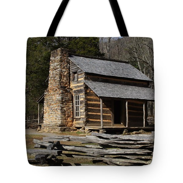 Tote Bag featuring the photograph My Mountain Home by B Wayne Mullins