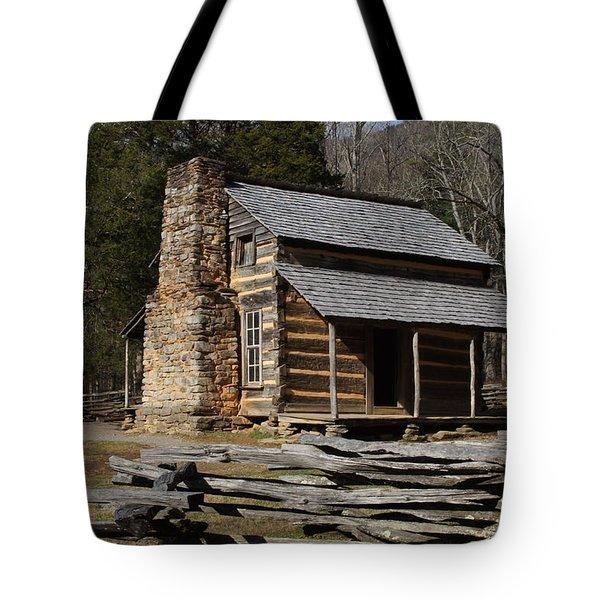 My Mountain Home Tote Bag