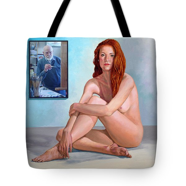 My Muse And I  Tote Bag