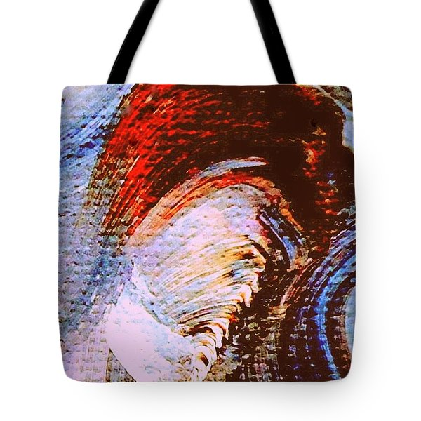 Tote Bag featuring the painting My Muse by VIVA Anderson