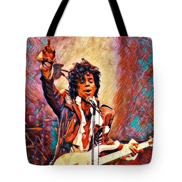 My Name Is    -  Prince Tote Bag