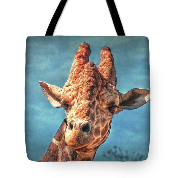 Tote Bag featuring the photograph My Name Is Bingwa by Hanny Heim