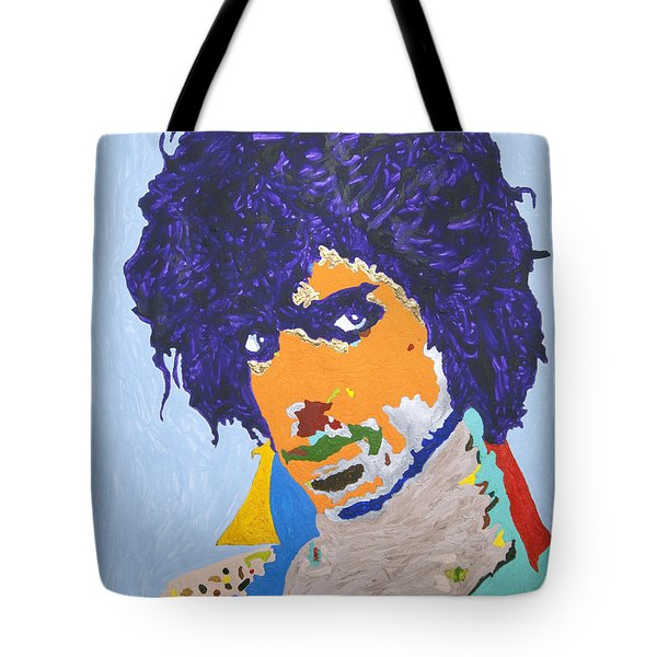 My Name Is Prince  Tote Bag by Stormm Bradshaw