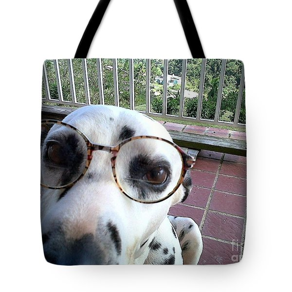 Tote Bag featuring the photograph My New Secretary by The Art of Alice Terrill
