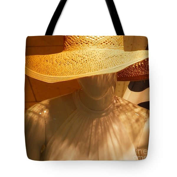 My New Summer Hat Tote Bag
