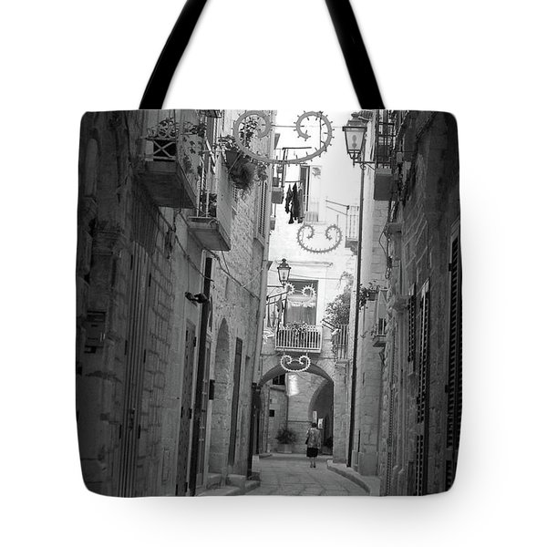 Tote Bag featuring the photograph My Old Town by Frank Stallone