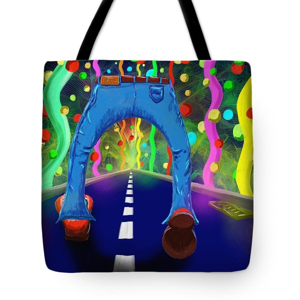 My Pants In Clown Shoes  Tote Bag