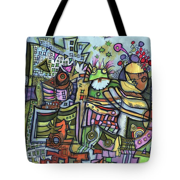 My Party Tote Bag by Sandra Church
